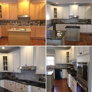 Cabinet Painting And Refacing Charlotte Nc Ocd Cabinet Painting Refacing Refinishing